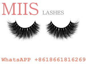mink fur strip false lashes